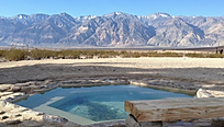 Saline Valley Warm Springs Death Valley