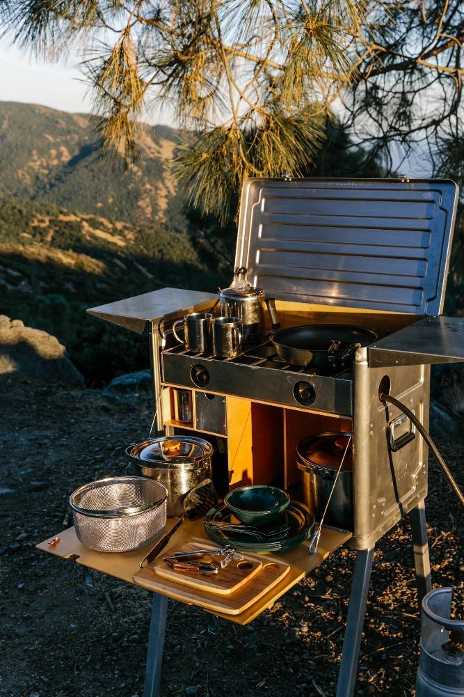 Kanz Outdoors Kitchen