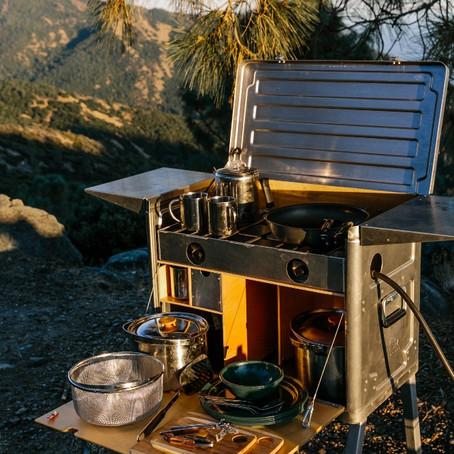 Cypress Overland kitchen set-up