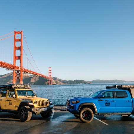 SF Bay Area - time to start planning your overland adventure!