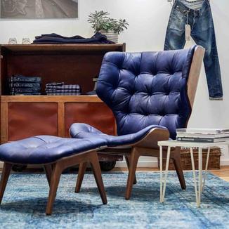 Denim brand use furniture to elevate brand
