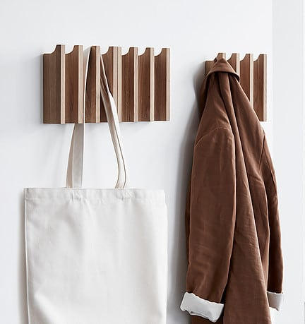Inspired by the beauty of conic pillars, here is Column Coat Rack.