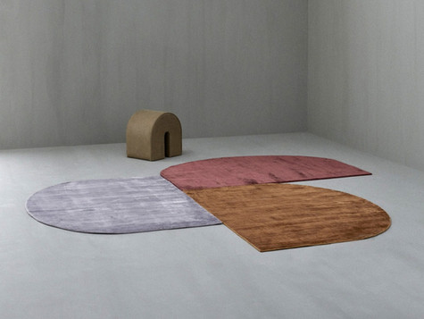 DUETTO rug by Linie Design