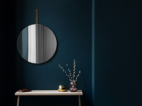 Wall Mirror by Moebe