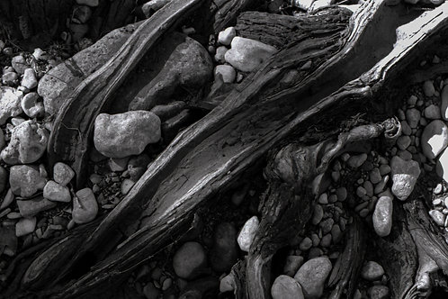 Textured log