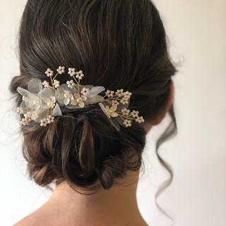 Brautstyling, Hochsteckfrisur