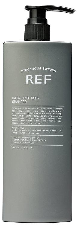 Hair & Body Wash 750ml