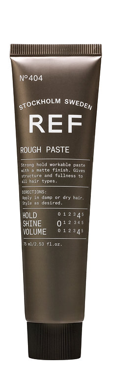 REF Styling 404 Rough Paste 75ml