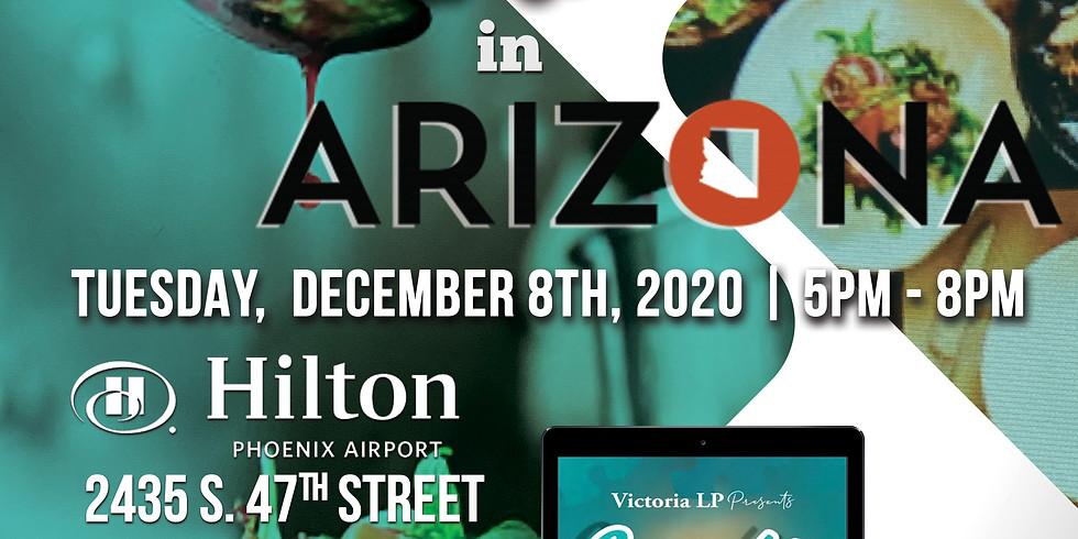 "Arizona "" Victoria LP Presents.... Cooking w/ a twist Infusion Course"""