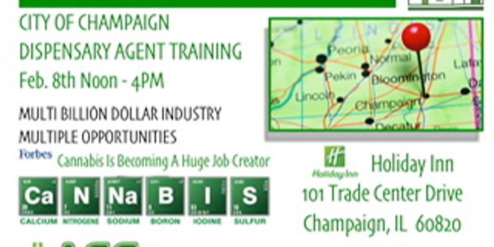 Champaign Illinois Dispensary Agent Training