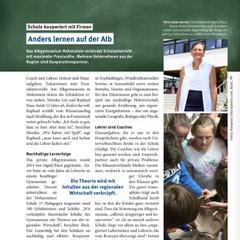 Albgymnasium im WNA Magazin