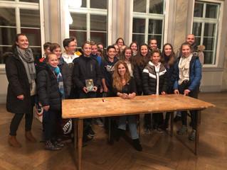"""Besuch beim Profi: Autorenlesung """"Erebos 2"""" von Ursula Poznanski am 11.11.2019 in Tübingen"""