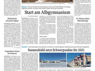Spatenstich: Das neue Albgymnasium-Gebäude wird gebaut!