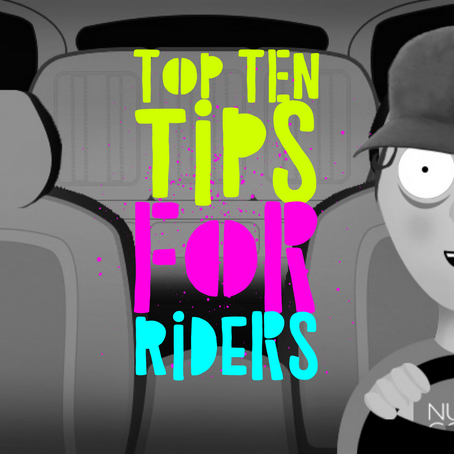 Top Ten Real Tips For Rideshare Riders
