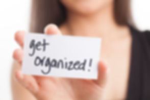 Get Organized! Message from smiling fema