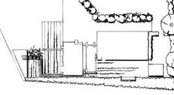 Detail of large garden: Cork