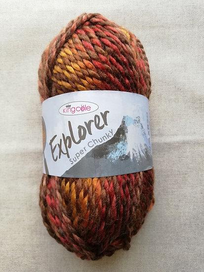 Explorer Super Chunky Knitting Yarn In Shade Raleigh