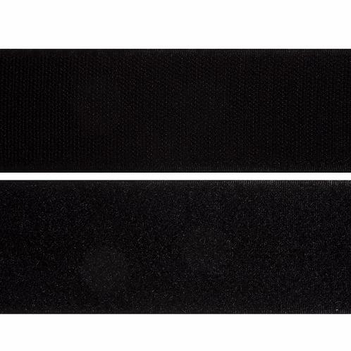 Black Self Adhesive Hook & Loop