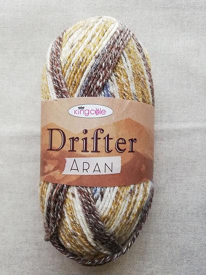 Drifter Aran Knitting Yarn In Shade Dolomites