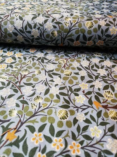 William Morris Print Clover Cotton Fabric