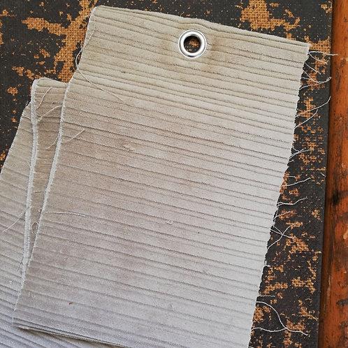 Stone Coloured 6 Wale Corduroy Fabric