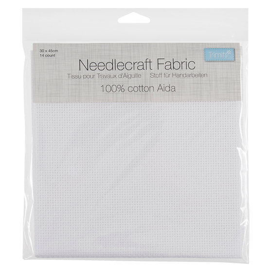 14 Count Aida Fabric For Counted Cross Stitch