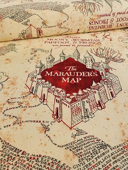 Harry Potter Marauders Print onto cotton fabric