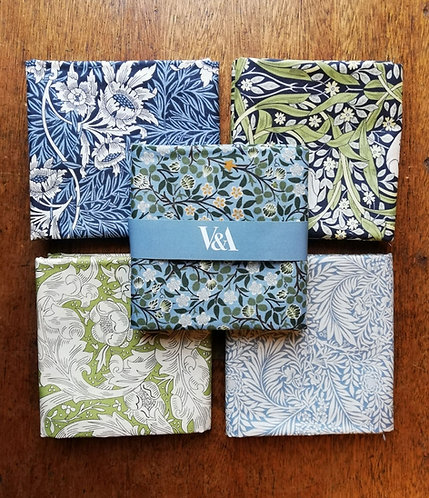 William Morris Collection Of Printed Cotton fabric