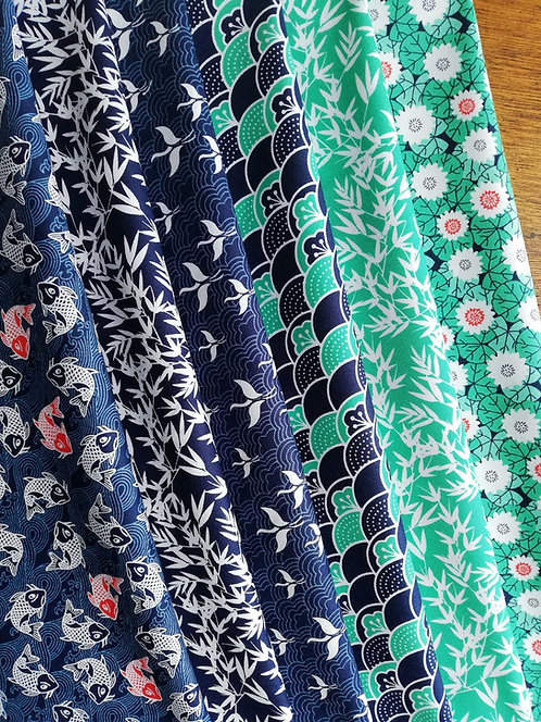 Kyoto Collection Of Cotton fabric