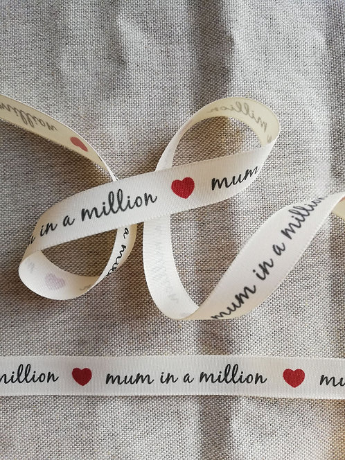 Mum In A Million Ribbon