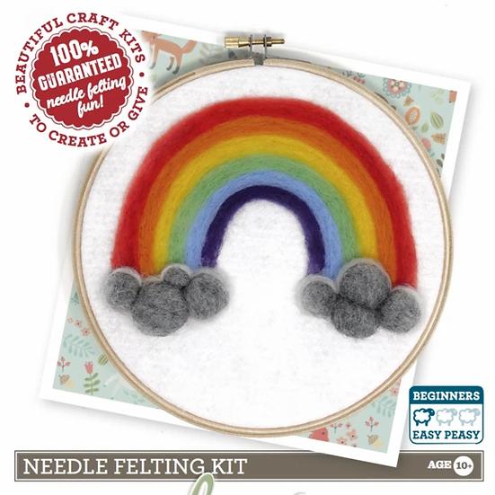 The Crafty Kit Company Rainbow Of Hope Needle Fit KIt