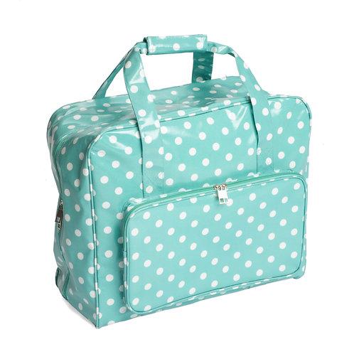 Mint Pea Spot Sewing machine Bag