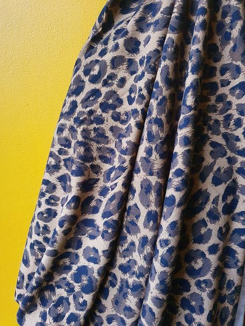 Leopard Print Jersey Fabric