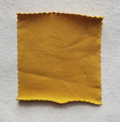 Ochre Cotton Spandex Jersey