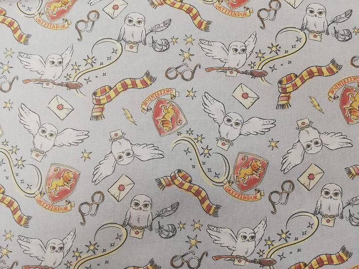 Harry Potter Gryffindor Cotton Fabric