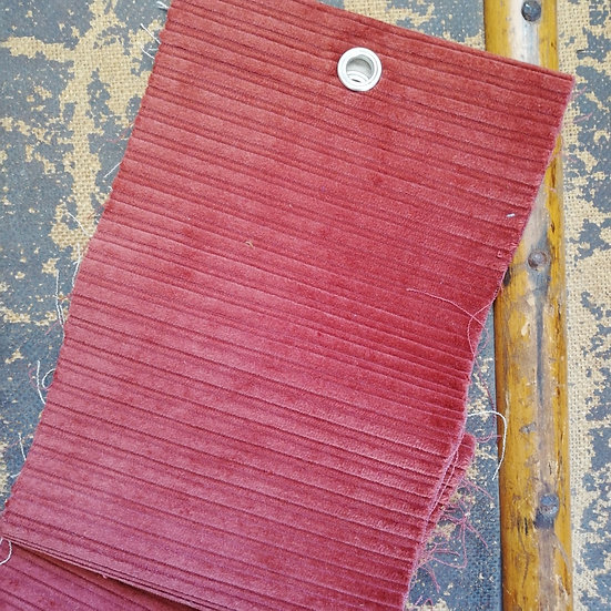 6 Wale Corduroy Fabric In Chestnut