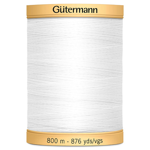 Gutermann Cotton Thread 800mtr