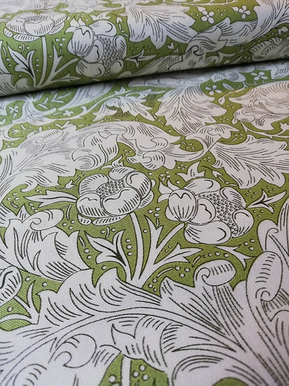 William Morris Print Bachelors Cotton Fabric