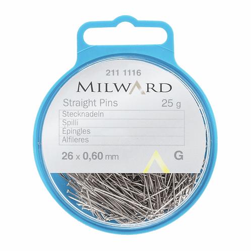 Milward Straight Pins