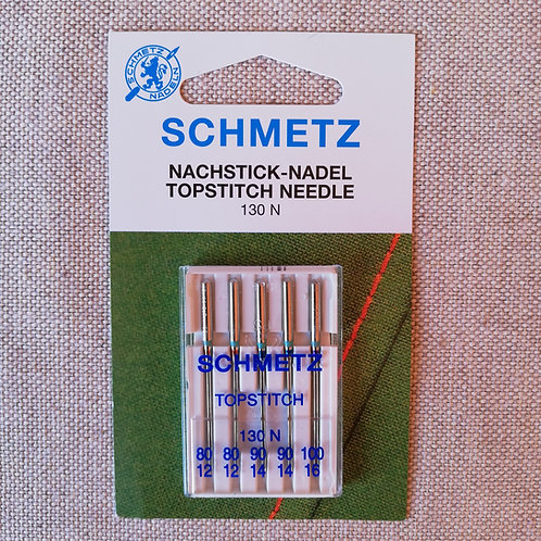 SEWING MACHINE NEEDLES - SCHMETZ - TOPSTITCH - ASSORTED
