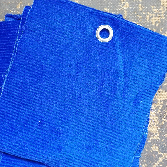 Royal Blue 8 Wale Corduroy Fabric