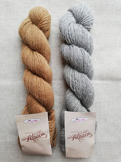 Natural Alpaca Knitting Yarn