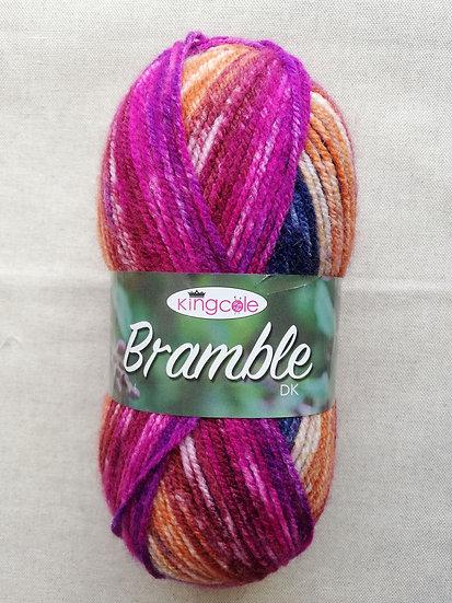 Bramble DK Knitting Yarn In Shade Raspberry