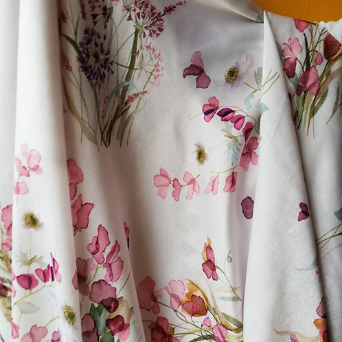 Polyester Floral Pint