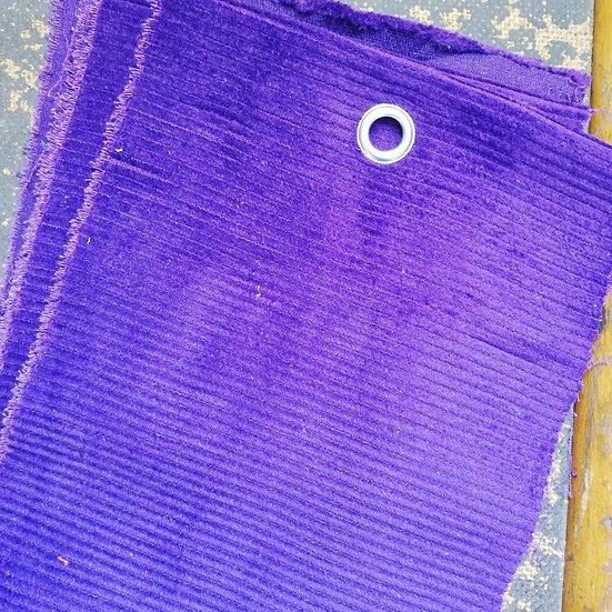 Purple 8 Wale Corduroy Fabric