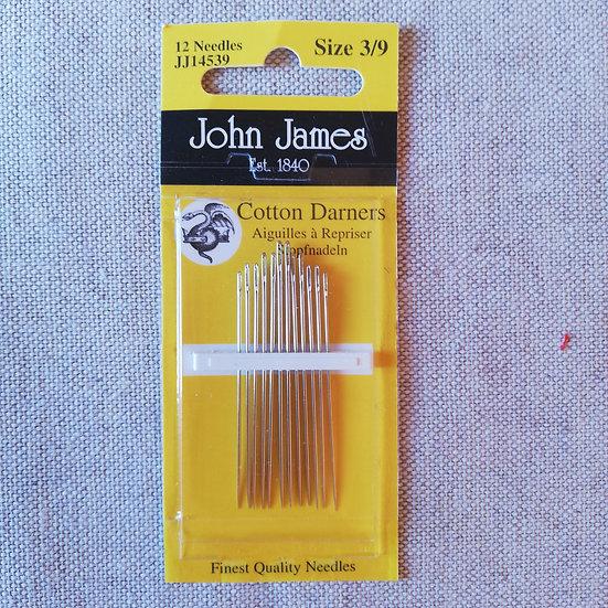 John James Assorted Pack Cotton Darner Needle
