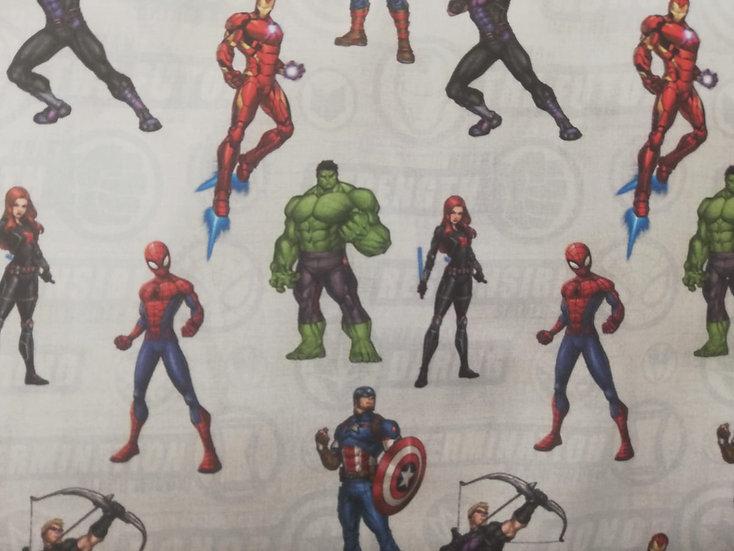 Avengers Assemble Cotton Fabric