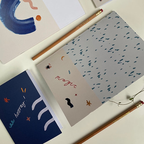 Magic Notebook A5 / Journal / Ideas book