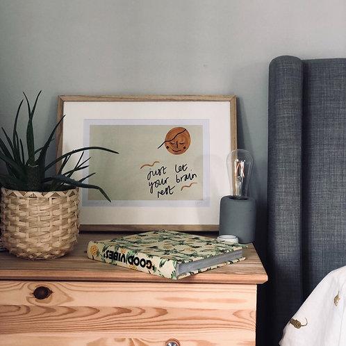 'Rest' A4 Art Print