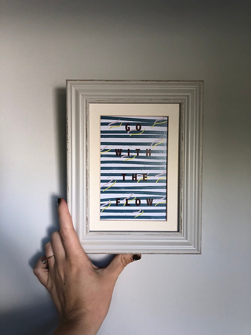 'Flow' print